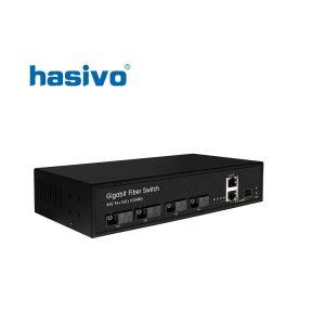 Switch quang 4 cong SC Hasivo F1200-4GX-2GC