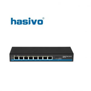 Switch quang PoE Hasivo S1100-8G-1GX